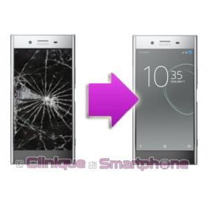 Remplacement Vitre Tactile + Ecran LCD pour Sony Xperia XZ Premium