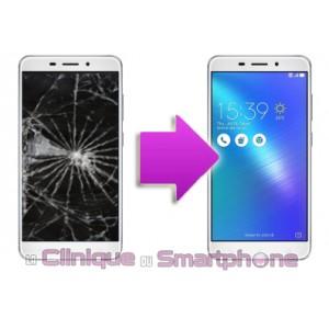Remplacement Vitre Tactile + Ecran LCD ASUS Zenfone 3 Laser - ZC551KL