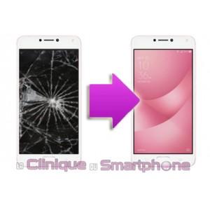 Remplacement Vitre tactile + Ecran LCD Asus Zenfone 4 Max Pro