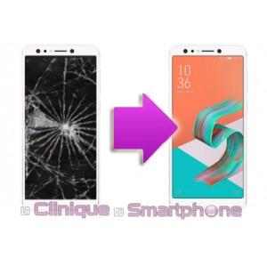 Changement LCD +  vitre tactile  ASUS Zenfone 5 Lite - ZC600KL