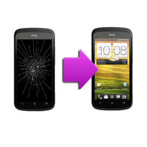 Changement bloc complet  tactile + LCD pour  HTC One SV