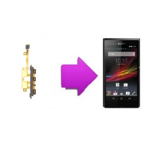 Changement nappe power Xperia Z1 compact