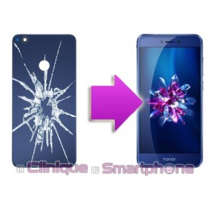 Remplacement Vitre arrière Huawei Honor 8 Lite