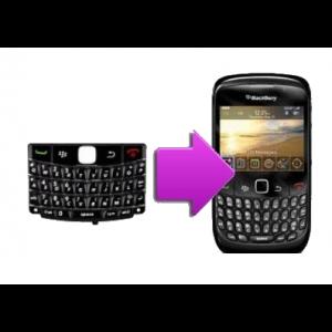Changement clavier QWERTY BlackBerry Bold 9700/9780
