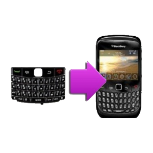 Changement clavier QWERTY BlackBerry Tour 9630