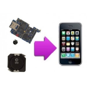 Changement bobine retro eclairage 6R8LCD iphone 3GS
