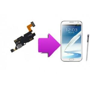 Changement  connecteur de charge  SAMSUNG Galaxy note 2 - N7100