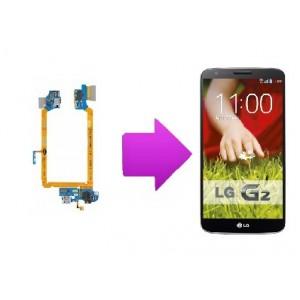 Changement connecteur de charge + micro  LG  Optimus G2 (D805)