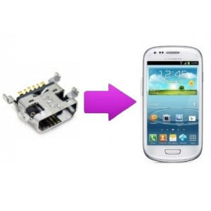 Changement connecteur de charge Samsung Galaxy S3 mini (I8190)