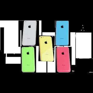 Coque arrière iPhone 5C