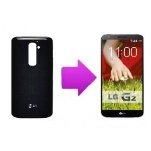 Changement coque  arrière LG Optimus G2 (D805)