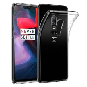 Coque de protection en silicone OnePlus 6