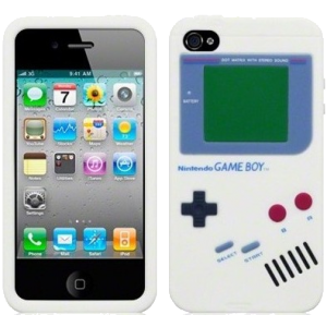 Coque silicone Gameboy iPhone 4/4S