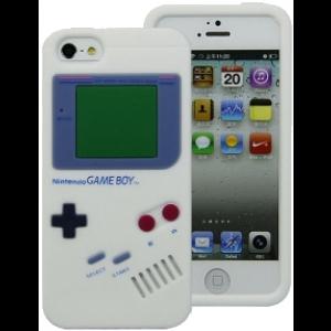 Coque silicone Gameboy iPhone 5