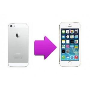 Changement coque complète arrière iphone SE