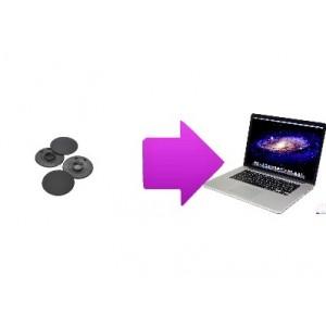 2 coussinets Macbook Pro / Rétina