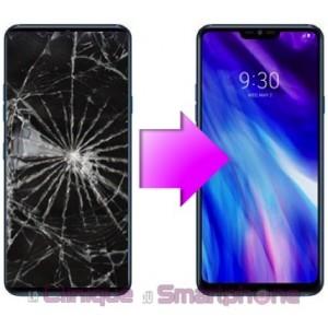Remplacement Vitre tactile + Ecran LCD pour LG G7
