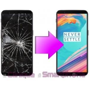 Remplacement Vitre tactile + Ecran LCD OnePlus 5T