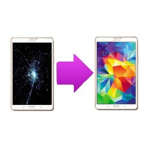 """Changement LCD + Vitre tactile Galaxy Tab S 8,4"""" (T700)"""