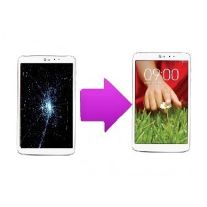 "Changement LCD + Vitre tactile LG G pad 8"" (V480 ou V490)"