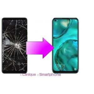 Remplacement Vitre Tactile + Ecran Amoled Huawei P40 Lite E