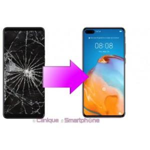 Remplacement Vitre Tactile + Ecran Amoled Huawei P40 Pro