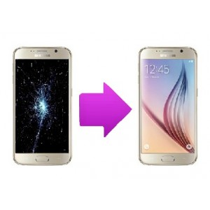 Changement LCD + tactile SAMSUNG Galaxy S6 - G920
