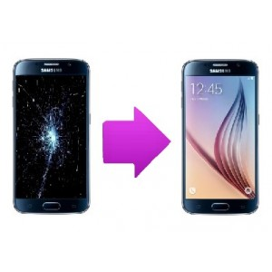 Changement LCD + tactile SAMSUNG Galaxy S6 Edge  - G925