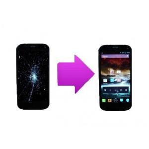 Changement bloc écran tactile + LCD  Wiko Darkfull