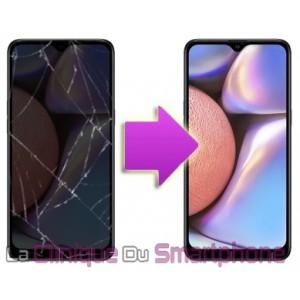 Remplacement Vitre tactile + Ecran Amoled Samsung Galaxy A10s (A107)