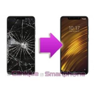 Remplacement Vitre Tactile + Ecran Xiaomi Pocophone F1