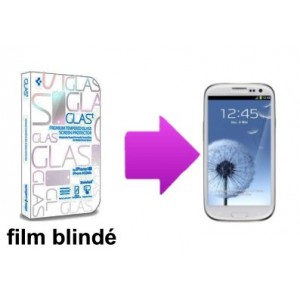 Film de protection blindé  Samsung Galaxy S3