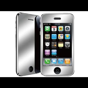 Film de protection mirroir iPhone 3G/3GS