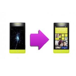 Changement LCD + vitre tactile HTC 8S