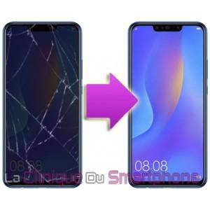 Remplacement Vitre Tactile + Ecran Huawei Nova 3i