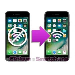 Réparation problème Wifi grisé iPhone 7 / 7 plus