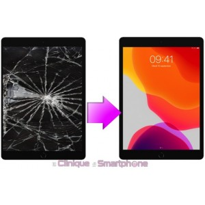 """Remplacement Vitre tactile pour iPad 10,2"""" Modèle 2019, ( A2232, A2200,A2198 )"""