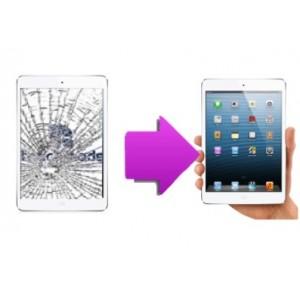 Changement vitre tactile iPad mini