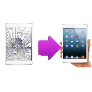 Changement vitre tactile iPad mini 2 retina