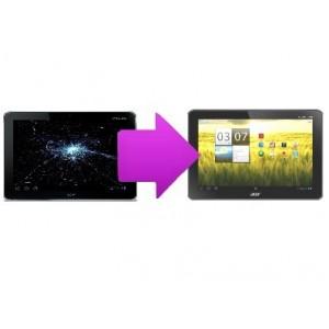 Remplacement Ecran LCD tablette ACER Iconia A500 / A510 à partir de: