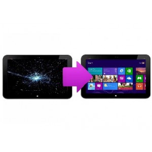 Changement  écran  LCD  HP envy x2