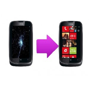 Changement  écran lcd  Nokia Lumia 610
