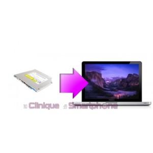 Remplacement Lecteur DVD Macbook Pro