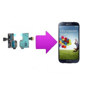 Changement lecteur SIM  SAMSUNG Galaxy S4 mini -i9195