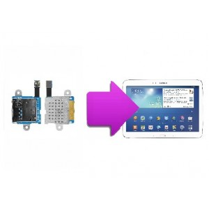 "Changement lecteur SIM  SAMSUNG Galaxy tab 3 10"" (P5200)"