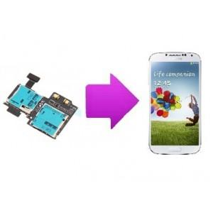 Changement lecteur SIM  SAMSUNG Galaxy S4 -I9505