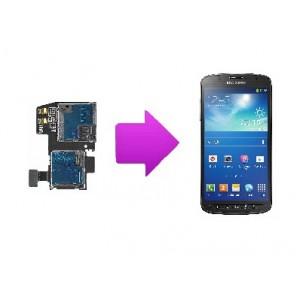 Changement lecteur SIM  SAMSUNG Galaxy S4  active - I9295