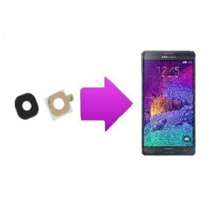 Remplacement lentille arrière Samsung Galaxy Note 4 - N9100