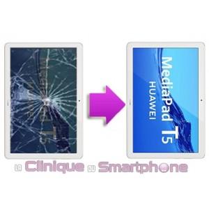 Changement Vitre Tactile + Ecran LCD Huawei MediaPad T5