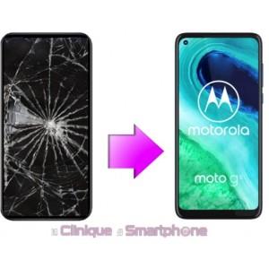 Remplacement Vitre Tactile + Ecran LCD Motorola G8 Plus (XT 2019)